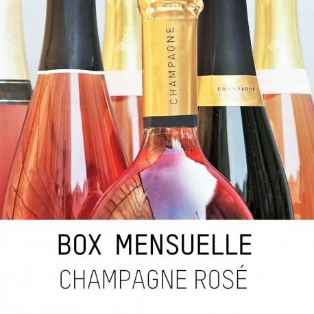 Box Rosé : l'abonnement pour découvrir les meilleurs champagnes , une idée cadeau originale