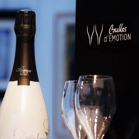 Coffret Femme Champagne avec 2 flûtes : idée cadeau fête aniversaire