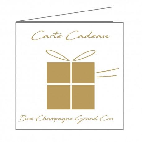 idée carte cadeau champagne, les meilleurs champagnes accompagnés de nos conseils dégustation