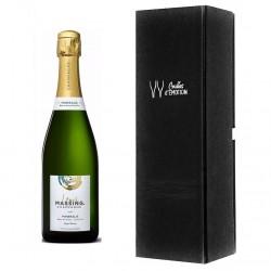 offrir du champagne à ses clients amateurs de vin