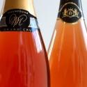 Champagne rose : coffret luxe avec 2 champagnes rosés Grand Cru