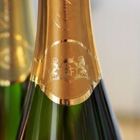 coffret prestige champagne blanc de blancs 100% chardonnay Avize