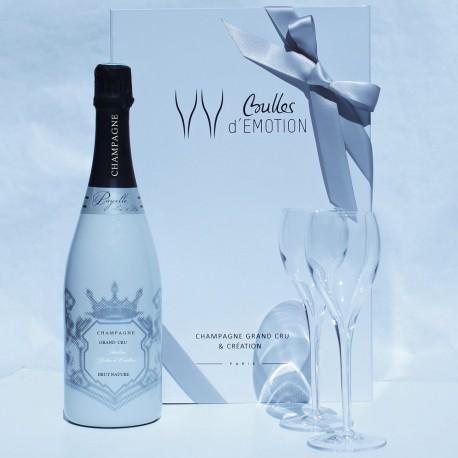 champagne pour le dîner en blanc