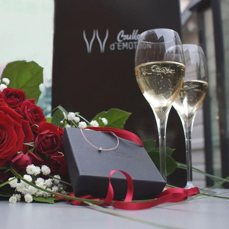 cadeau luxe saint valentin box homme 30 ans noces diamant champagne. Black Bedroom Furniture Sets. Home Design Ideas