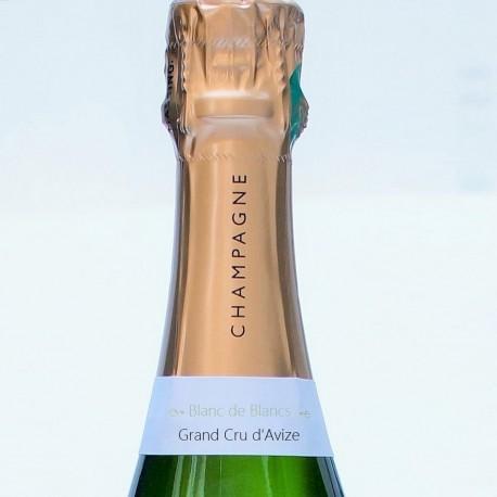 Blanc de Blanc bouteille de champagne chardonnay