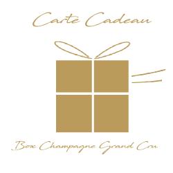 gift box champagne