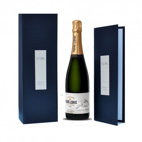 champagne oenology tasting gift box wine flutes