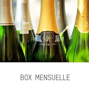 Découvrez chaque mois un nouveau champagne !